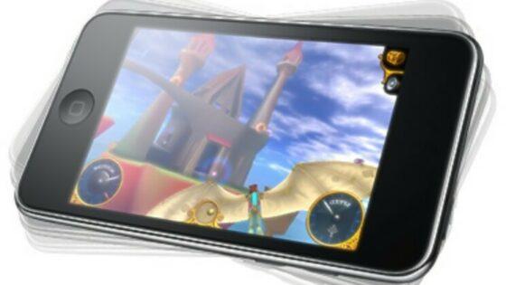 Novi večpredstavnostni predvajalnik iPod Touch naj bi bil povsem pisan na kožo igranju računalniških iger!