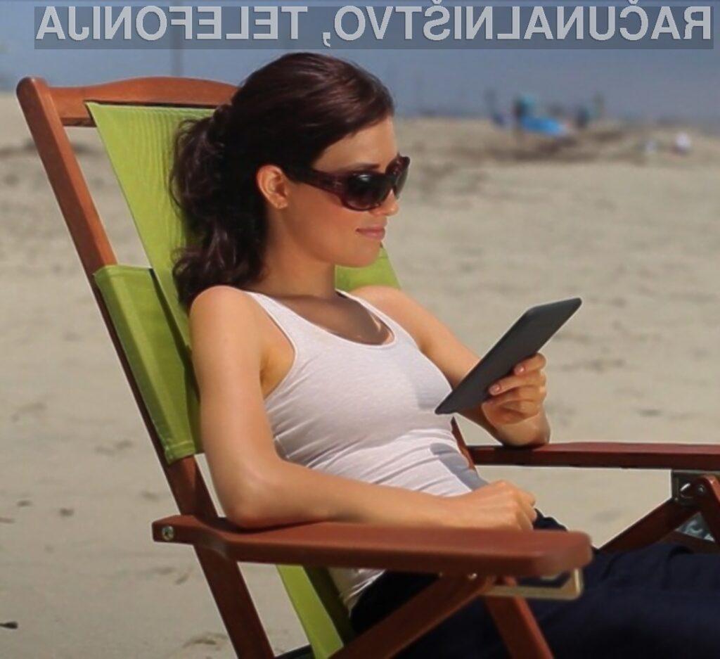 Amazon izboljšal in pocenil e-bralnik Kindle