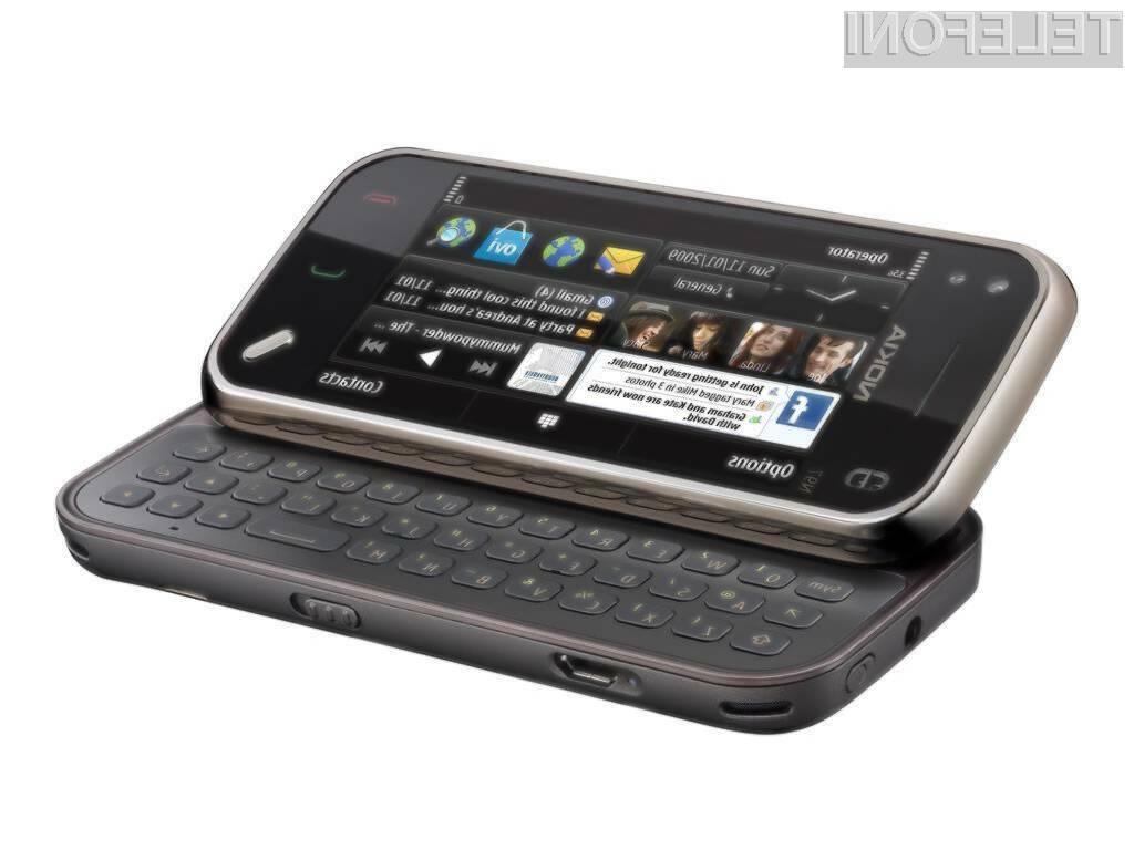 Nokia N97 mini ima prav tako težave s signalom.