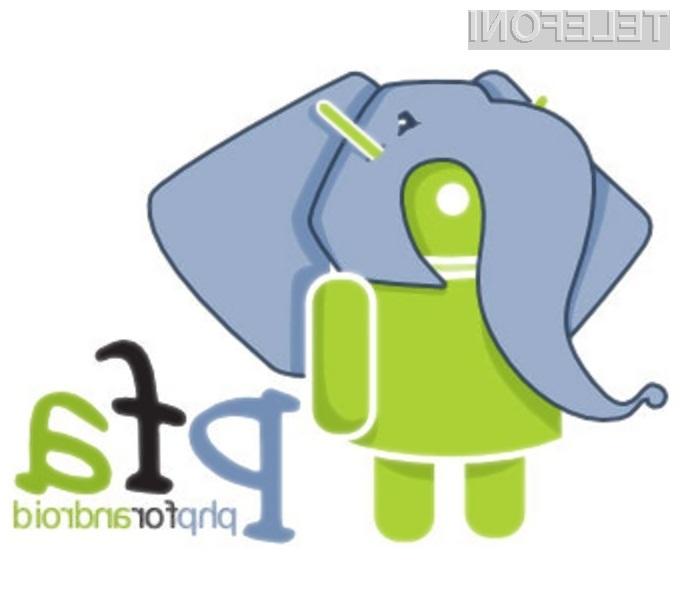 Programski jezik PHP naj bi se odlično prilegal priljubljenemu mobilnemu operacijskemu sistemu Android!