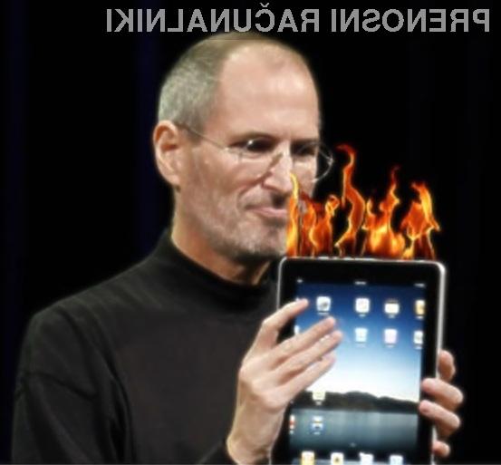 Tablični računalnik Apple iPad naj bi se pregreval tudi v povsem običajnih vremenskih razmerah.
