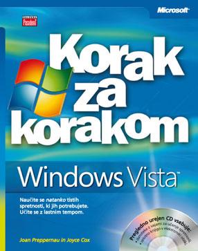 Microsoft Windows Vista korak za korakom