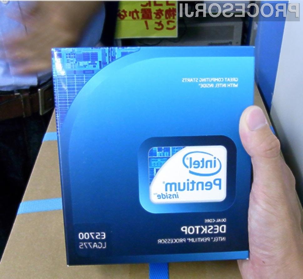 Procesorji Intel Pentium so povsem dostopni tudi računalničarjem s plitkejšimi denarnicami.