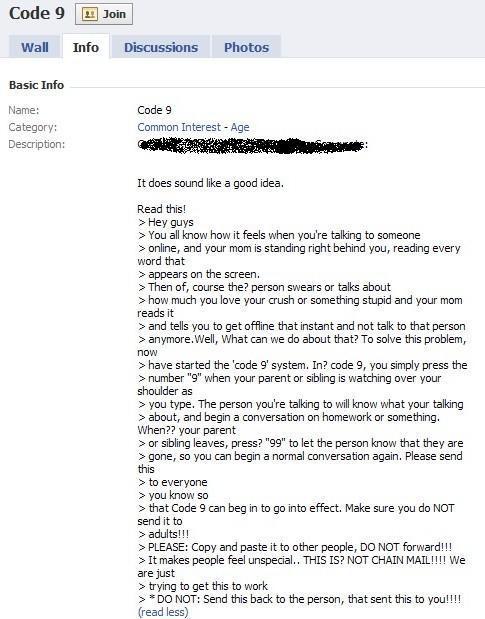 »Code 9« se ponovno pojavlja na socialnih omrežjih