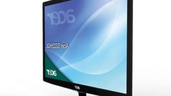 Kompaktni računalniški zaslon Acer S222HQL v ničemer ne zaostaja za konkurenčnimi izdelki.