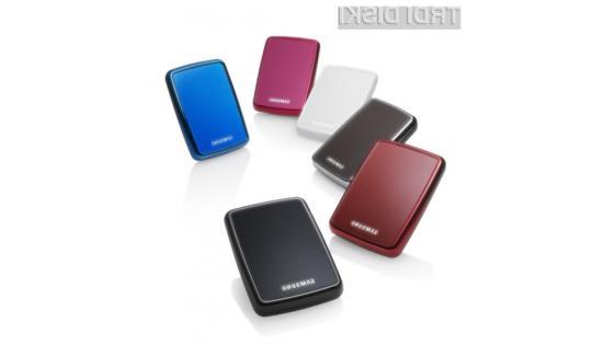 Prenosni disk S2 Portable 3.0 bo na voljo v kar nekaj različnih barvah.