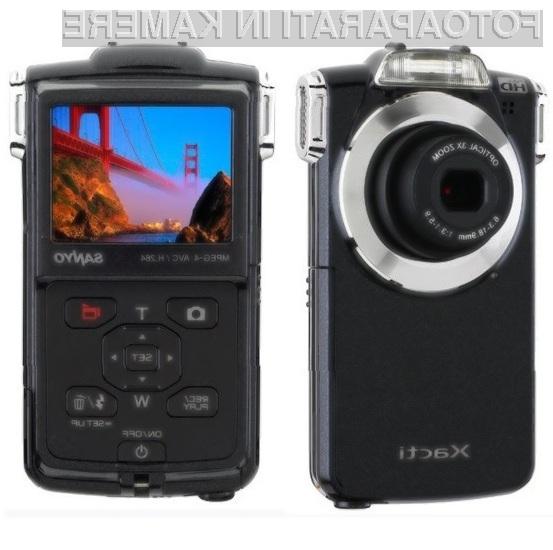 Sanyo VPC-PD2BK: kakovostni digitalni kamkorder in zmogljivi fotoaparat v enem!