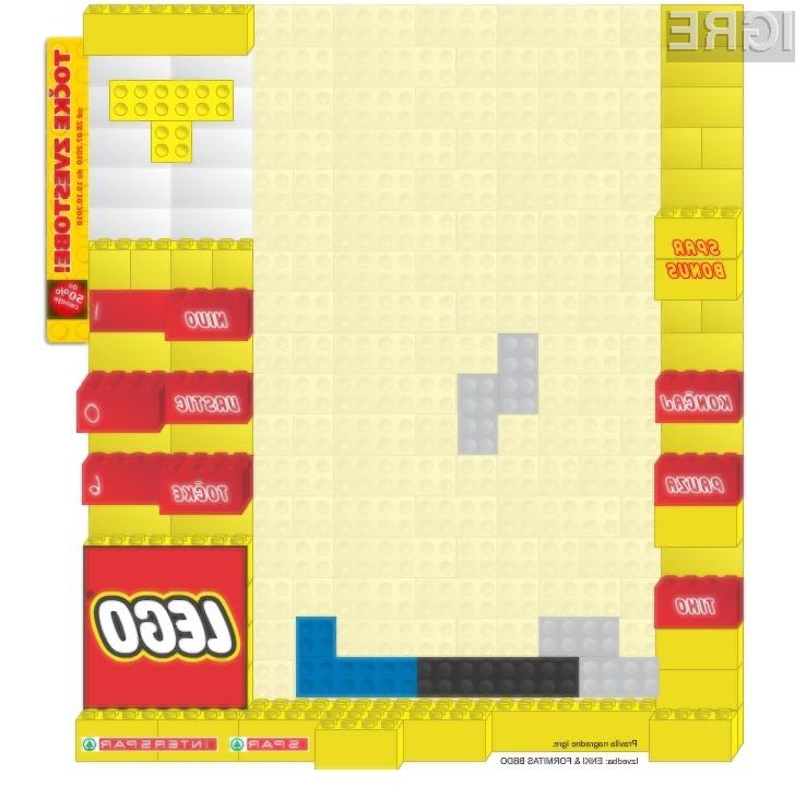 Kaj imajo skupnega kocke Lego in igrica Tetris? Enki!