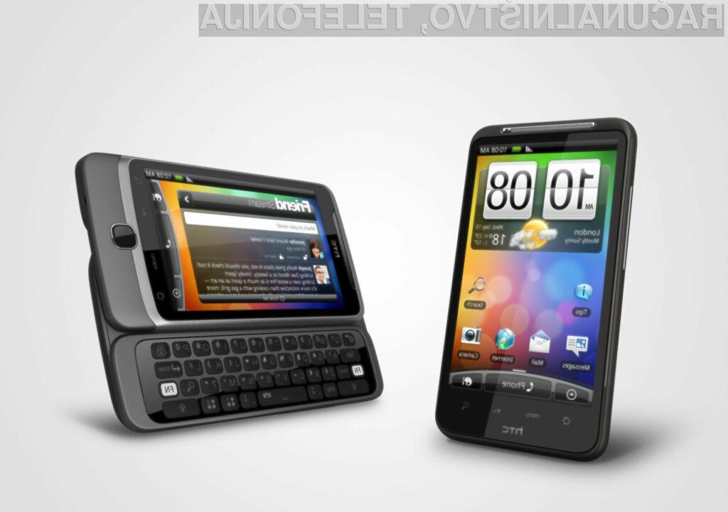 HTC Desire HD in HTC Desire Z