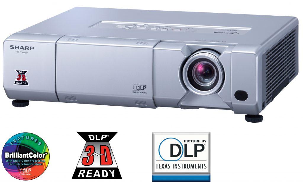 PROJEKTOR SHARP PG-D50X3D