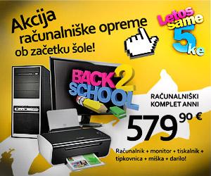 Akcija računalnikov in računalniške opreme [back2school]