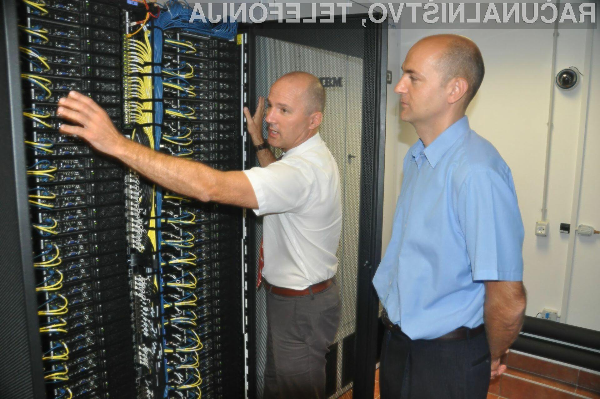 Namesto v enem letu na osebnem računalniku bo obdelava podatkov na superračunalniku končana v 1 uri