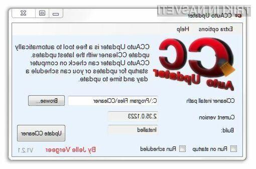 Z dodatkom CCAuto Updater je posodabljanje lažje!