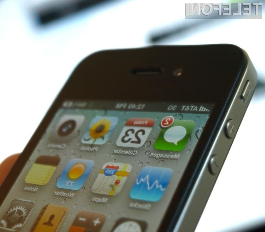Varnostna zaščita mobilnega operacijskega sistema iOS 4.1 ni bila kos spretnim hekerjem!