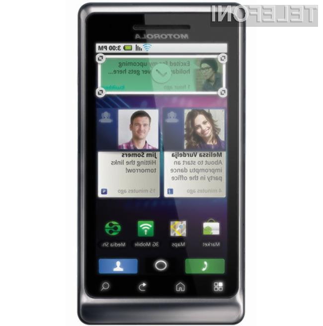 Motorola je pripravila dva konkurenčna mobilnika.