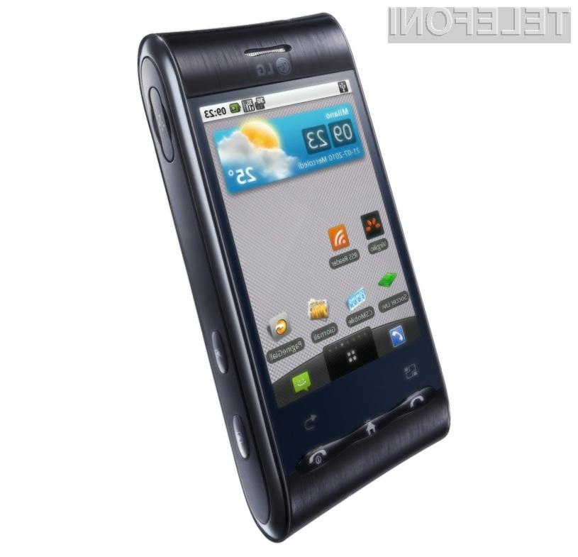 Podjetje LG je pripravilo cenovno zelo zanimiv pametni mobilni telefon z Androidom.