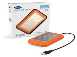 LaCie Rugged USB3.0 Drive