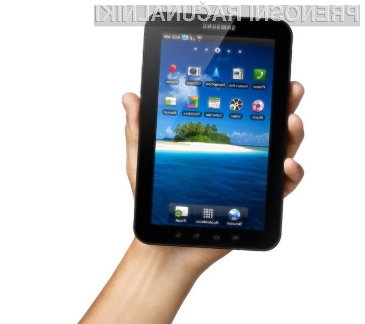 Bo vsestransko uporaben tablični računalnik Samsung Galaxy Tab letošnji prodajni hit?