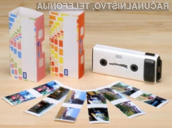 Tridimenzionalna digitalna fotografija bo kmalu postala dostopnejša širšemu krogu ljudi.