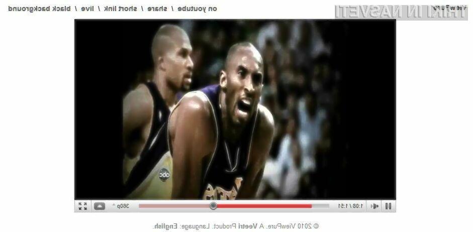 Gledanje posnetkov na strani YouTube brez motečih dejavnikov