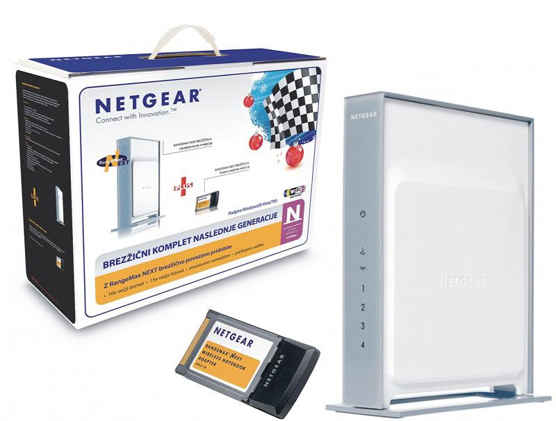 NETGEAR Brezžični N 300Mbps komplet