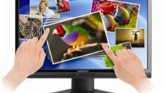 Večtočkovni zaslon Viewsonic VX2258wm bo občutno pohitril delo z operacijskim sistemom Windows 7.
