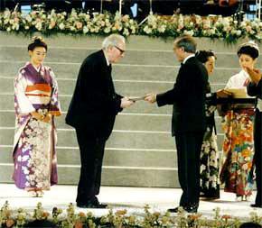 Dobitniki nagrade Kyoto Prize