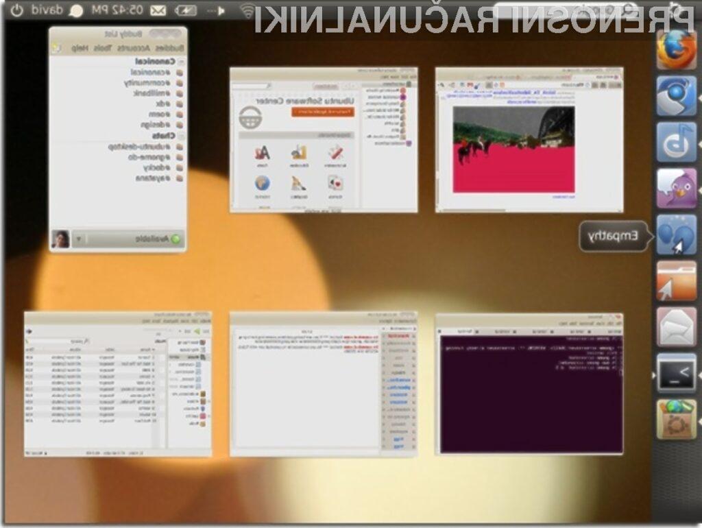 Operacijski sistem Ubuntu Light 10.10 se več kot odlično prilega žepnim računalnikom!