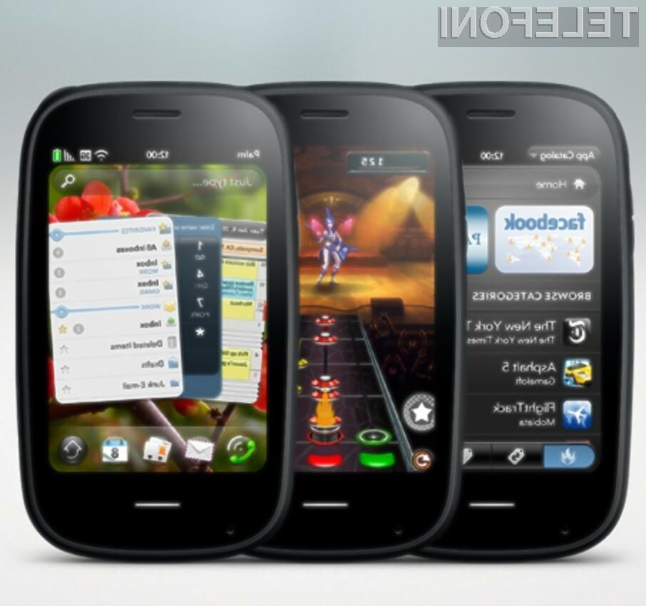 Grafični vmesnik in funkcionalnost pametnega mobilnega telefona Palm Pré 2 enostavno navdušujeta!
