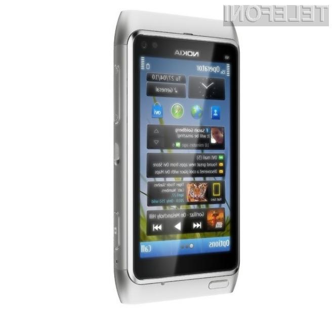 Vas je Nokia uspela prepričati v nakup pametnega mobilnega telefona N8?