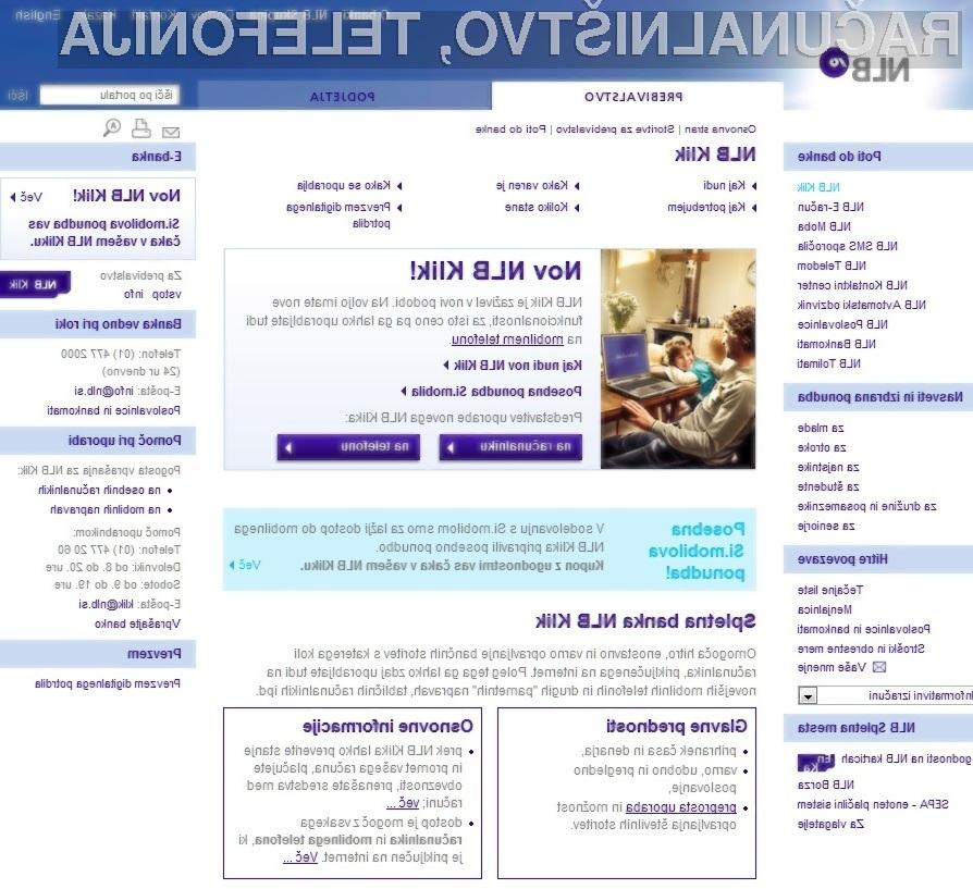 Novi NLB Klik je resnično varna spletna banka!
