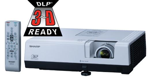 SHARP projektor PG-D2870W