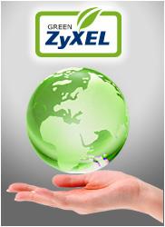 Okolju prijazni ZyXEL.