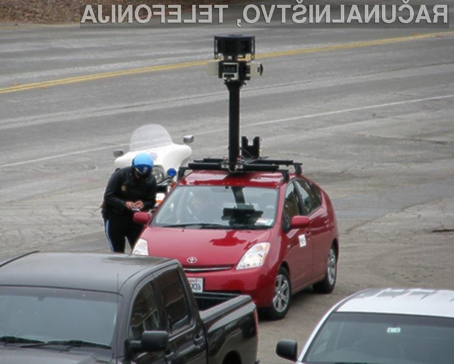 Google si je tokratni spodrsljaj privoščil na račun prikritega prestrezanja prometa brezžičnih omrežij.
