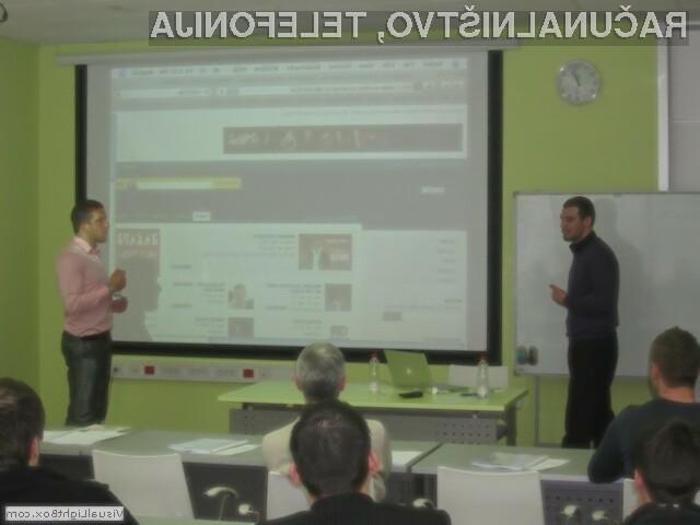 Kotizacija za seminar Kako do učinkovite spletne strani? za samo 177,00 €