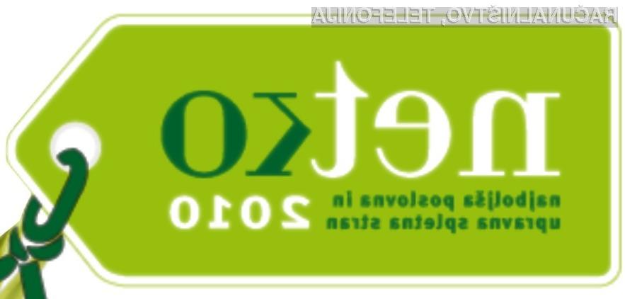 Tudi letos nagrada Netko za najboljšo poslovno in upravno spletno stran v Sloveniji.
