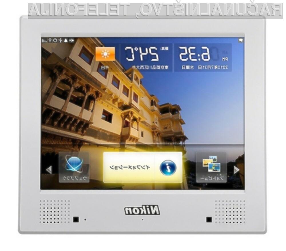 Digitalni okvir Nikon NF-300i je pisan na kožo vsem [???]