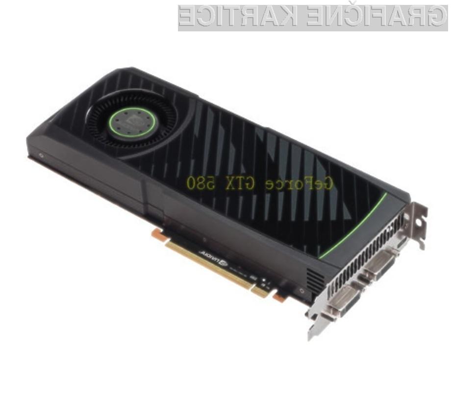 Zmogljivost grafične kartice Nvidia GeForce GTX 580 bomo le stežka izkoristili v celoti!