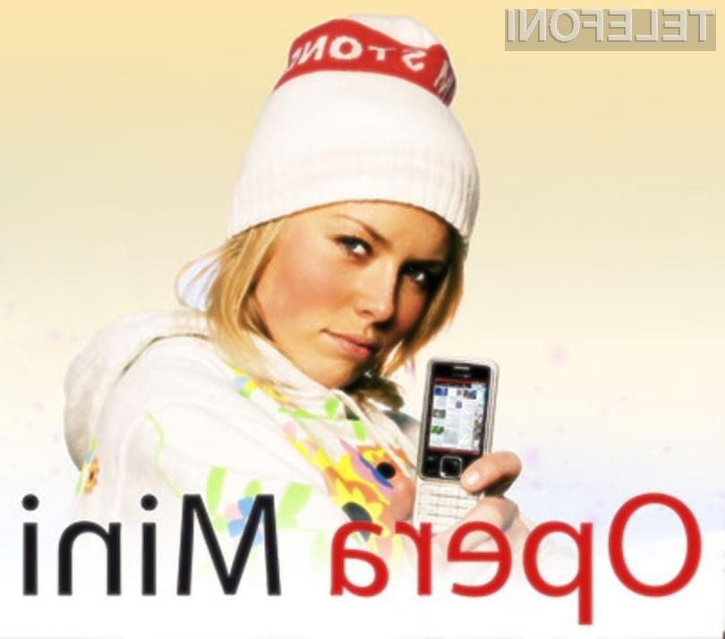 Nova Opera Mini 5 bo razveselila številne uporabnike mobilnikov z operacijskim sistemom Symbian.