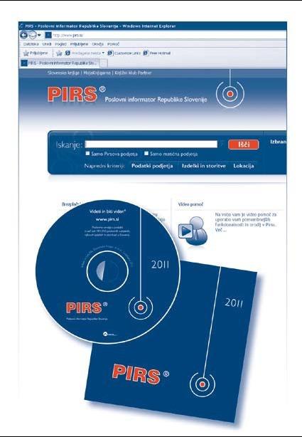 PIRS je poslovni imenik s preverjenimi podatki o slovenskih podjetjih, njihovih izdelkih in storitvah.