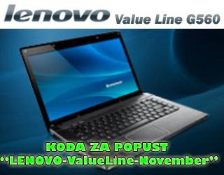 Lenovo ValuLine G560 izjemna priložnost