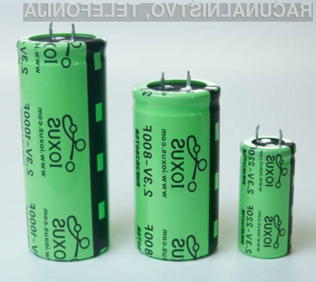 Hibridna baterija podjetja Ioxus naj bi precej olajšala življenje uporabnikom prenosnih naprav.
