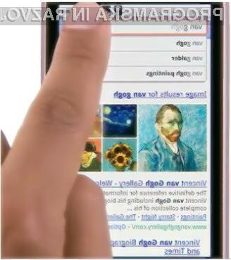 Google Instant search za mobilnike