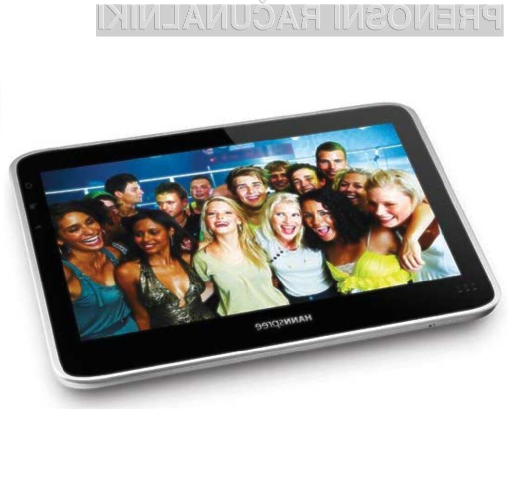 Cenovno ugodni tablični računalnik HANNSpad ponuja prav vse, kar potrebujemo za delo in zabavo!