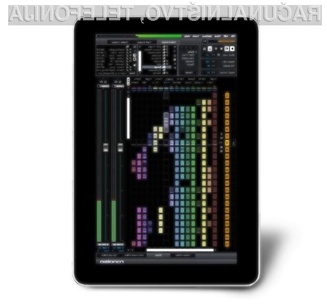 Tablični računalnik Indamixx 2 Beta je pisan na kožo glasbofilom.