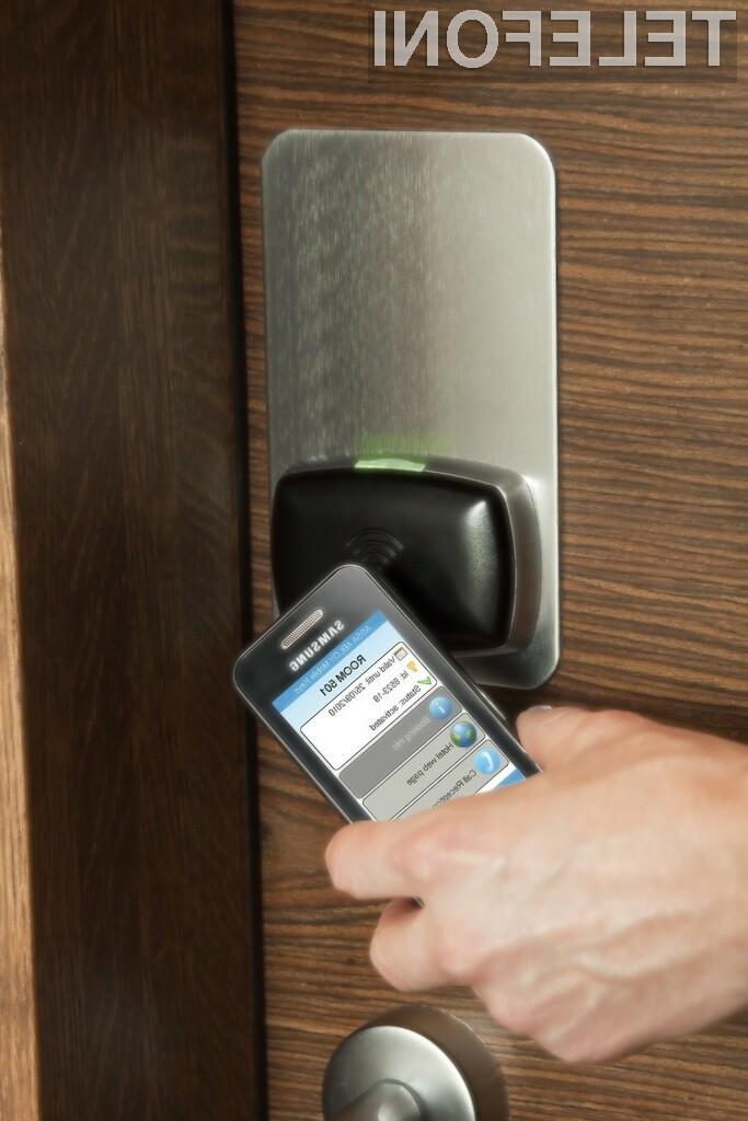 Mobilni telefoni bodo zamenjali ključe