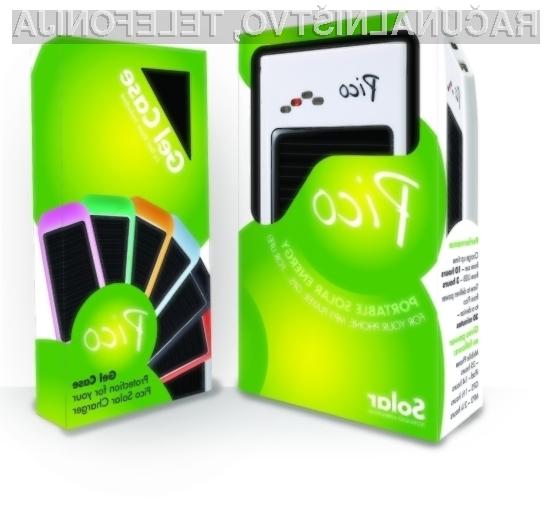 Prenosni kompaktni solarni polnilnik