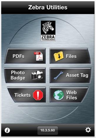 Screenshot aplikacije