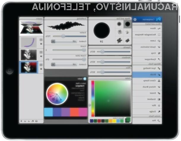 Na konferenci Adobe Max je bil predstavljen koncept aplikacij, ki omogočajo neposredno obdelavo slik na tabličnih računalnikih.