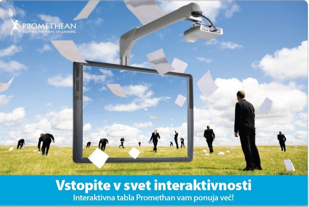 Vstopite v svet interaktivnosti!